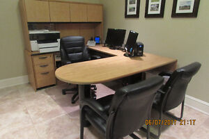 Complete Home Office work station  (8 pcs) Moving sale