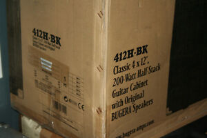 Bugera 412-H-BK  New in box  4X12 cabinet Cambridge Kitchener Area image 5