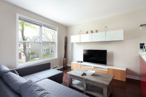 Fully Furnished, 2  Bedroom  apartment a walk from the ocean