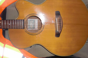 acoustic electric cutaway compass yamaha