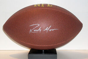 NFL Vikings/ Patriots Randy Moss Authentic Signed Football