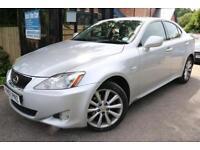 2007 (57) Lexus IS 220D 2.2 Silver 4 Door Long MOT Great Family Car