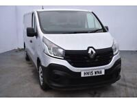 2015 15 RENAULT TRAFIC 1.6 LL29 BUSINESS ENERGY DCI S/R P/V 1D 120 BHP DIESEL