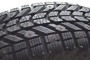 Winterforce Firestone 195/65/15 set of 4 studded winter tires