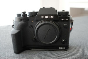 Fuji XT-2 with Vertical Power Booster Grip