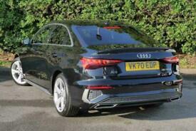 2020 Audi A3 SALOON 35 TFSI S line 4dr S Tronic Auto Saloon Petrol Automatic