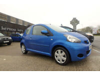 2009 (09) TOYOTA AYGO 1.0 VVT-i Blue Low Mileage 1 Previous Owner