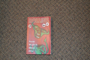 "HENRY ROLLINS (SOFT COVER) BOOK - ""Now Watch Him Die"" EARLY 90's"