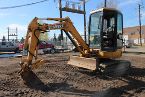 John Deere Mini Excavator Buy Or Sell Heavy Equipment In Canada