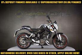 2012 62 KTM DUKE 125 125CC 0% DEPOSIT FINANCE AVAILABLE