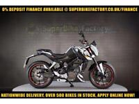 2012 62 KTM DUKE 125 125CC 0% DEPOSIT FINANCE AVAILABLE