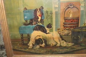 Old Antique Picture of Dogs London Ontario image 2