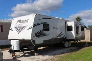 34' Puma travel trailer