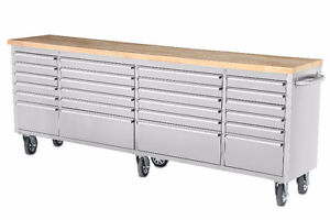 ALL NEW STAINLESS STEEL TOOL CABINETS AT BRYAN'S ONLINE AUCTION