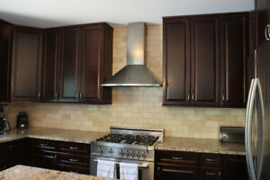 Beautiful 'used' kitchen with granite countertop for sale