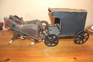 Vintage Folk Art Horse and Buggy London Ontario image 6