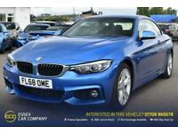 2018 BMW 4 Series 2.0 420D M SPORT 2d 188 BHP Convertible Diesel Manual