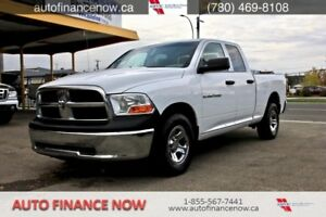 2012 Ram 1500 ST Quad Cab 4WD CHEAP PAYMENTS REDUCED CALL !!