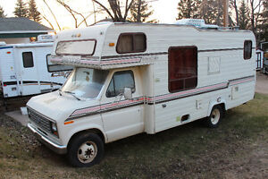 1983 Ford Glendale 24ft E350 RV Motorhome with AC low km's