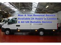 Man & Van Removal Service Special Offer Loading and Unloading £20 per in London all UK