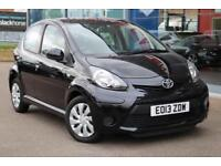 2013 TOYOTA AYGO 1.0 VVT i Ice GBP0 TAX, LEATHER and BLUETOOTH