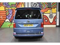 2016 VW TRANSPORTER T6 T32 LWB 2.0TDI 140PS DSG HIGHLINE KOMBI SPORTLINE PK BLUE
