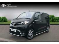 2021 Toyota Proace 2.0D (180hp)(Eu6dT-E) Design Medium CC Auto Crewcab Van Diese