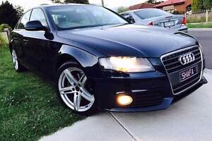 2009 Audi A4 Leather, Sunroof, Rego, RWC & Books St Albans Brimbank Area Preview
