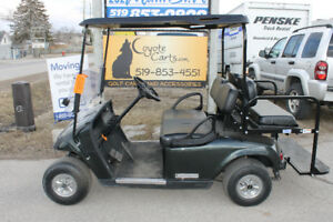 2013 Charcoal EZ-GO  TXT Electric Golf Cart