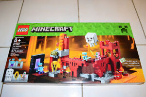 LEGO 21122 MINECRAFT The Nether Fortress BUILDING SET Brand New
