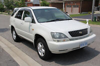 1999 TOYOTA HARRIER ( Lexus RX300 ) Right Hand Drive ( JDM )