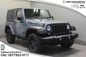 2014 Jeep Wrangler Sport EXT Warranty TO 115 KMS - AIR - PWR Win