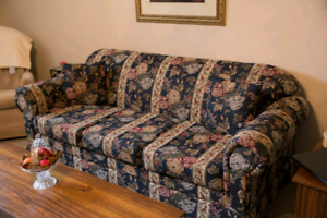 Couch, loveseat and chair