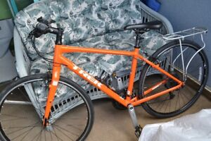 TREK BIKE, ORANGE, LIGHT USE