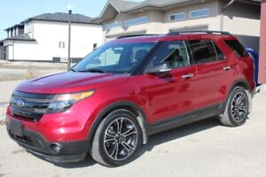 2014 Ford Explorer Sport only 47,000kms warranty to 80,000kms