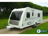 Buccaneer Fluyt 2013 Caravan 4 Berth Twin Single Beds End Bathroom Single Axle