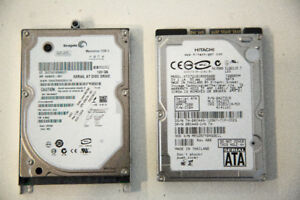 Laptop hard drives $20 each, $30 for both OBO