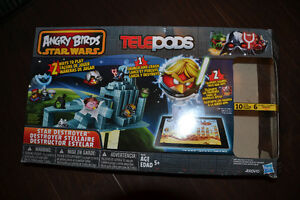 ANGRY BIRDS!!  2 Games and a 2.5 inch figure