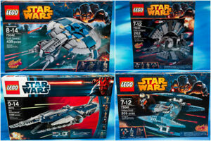 Lego Star Wars Clone Wars CIS Ships from 2012-2014 New/Sealed