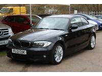 BMW 1 SERIES 118D M SPORT Black Manual Diesel, 2012