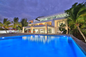 LUXURY FAMILLY VILLA FOR RENT SINT MAARTEN CARIBBEAN