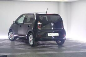2017 Volkswagen UP Petrol black Manual