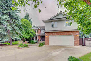 Terwillegar Park Estates Home w/ In-Law Suite on Sprawling Lot!