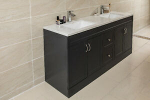 "60""Bathroom cabinet wholesale"