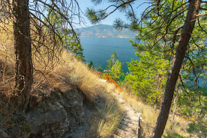 Serene Okanagan vacation home with private beach! Must see!