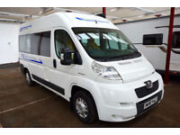 2009 Peugeot Boxer 2 Berth High Roof Camper with Bathroom