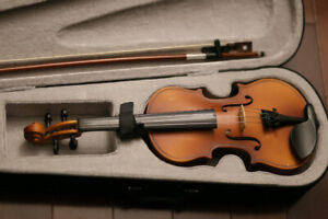 1/4 size violin for child 3-7 years old