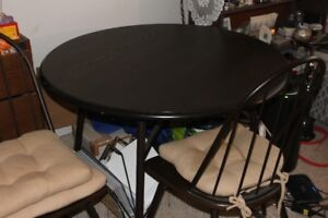 Dining Room Table with four chairs.