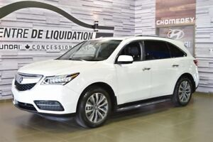 Acura MDX Tech+GPS+DVD+AWD 2015