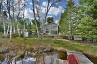 Cottage for sale on beautiful quiet lake (non motorized)